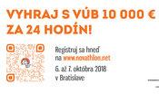 Novathon 2018 - maratón inovatívnych riešení