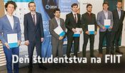 Dekanka ocenila najlepších študentov FIIT STU