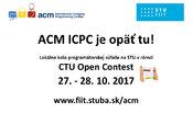 ACM ICPC 2017