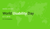 World Usability Day 2018 na Slovensku