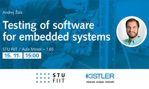 Efektívne testovanie softvéru vnorených systémov