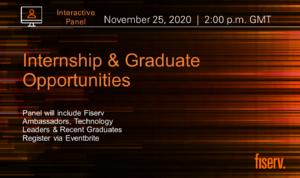 Fiserv: Internship and Graduate Opportunities