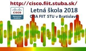 Letná škola Cisco sieťovej akadémie FIIT