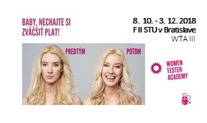 e9bc0af3c Women Tester Academy (WTA) je určená pre ženy, ktoré majú záujem vstúpiť do  sveta IT skratkou cez softvérový testing. Cieľom kurzu je pripraviť  účastníčky ...